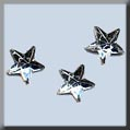 12299 - Very Petite Crystal Stars - 3 per pkg - Click Image to Close